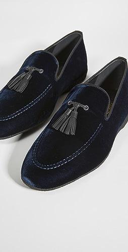 Paul Stuart - Hope Tassel Slip On Loafers