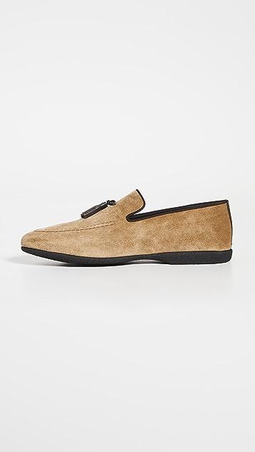 Paul Stuart Hope Tassel Loafers
