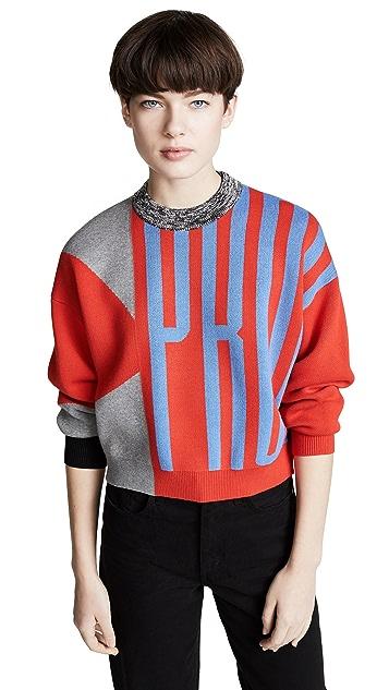 Proenza Schouler PSWL Printed Logo Sweater