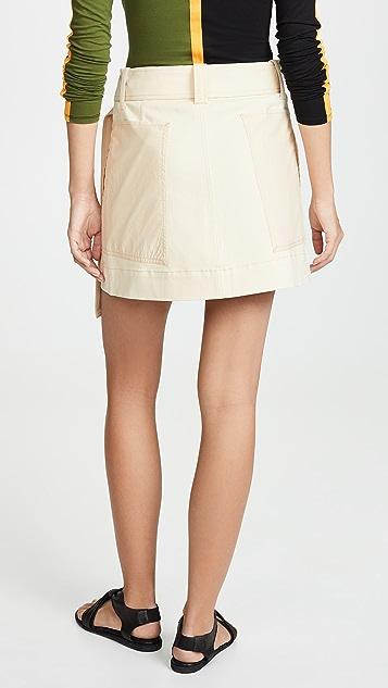 Proenza Schouler PSWL Belted Skirt