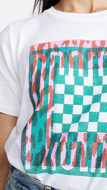 Proenza Schouler White Label Baby 印花 T 恤