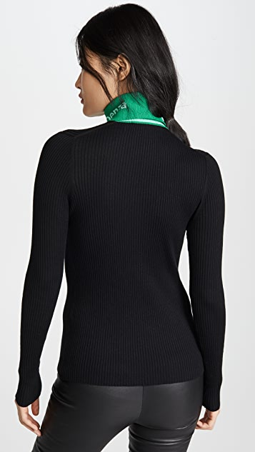 Proenza Schouler PSWL Long Sleeve Knit Turtleneck