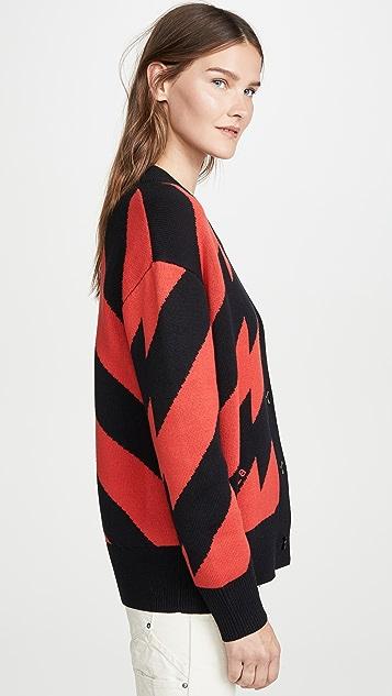 Proenza Schouler PSWL Jacquard Knit Cardigan