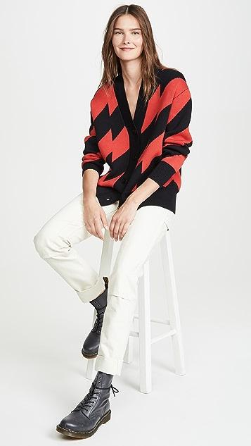 Proenza Schouler White Label 提花针织开襟衫