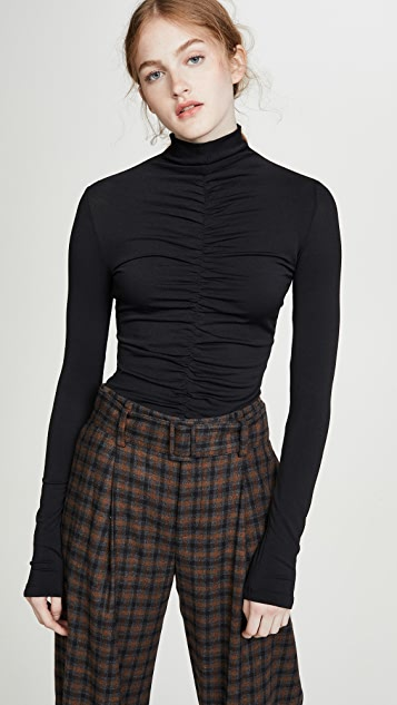 Long Sleeve Fitted Turtleneck by Proenza Schouler Pswl
