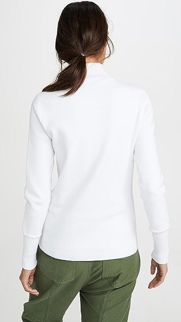 Proenza Schouler White Label 1/4 拉链毛衣