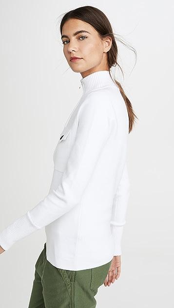 Proenza Schouler PSWL 1/4 Zip Sweater