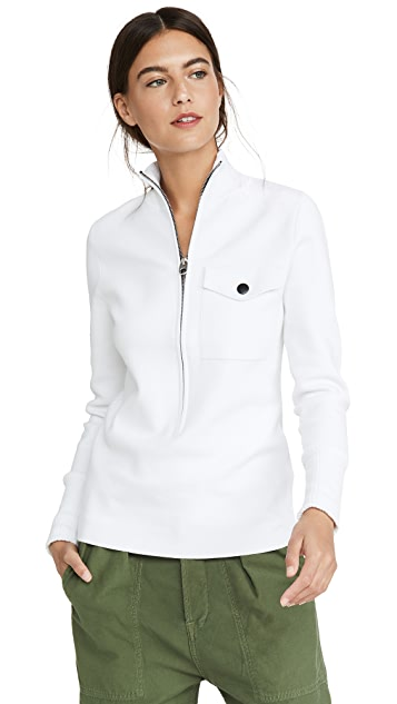 Proenza Schouler White Label 1/4 Zip Sweater