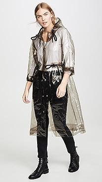 Hooded PVC Raincoat