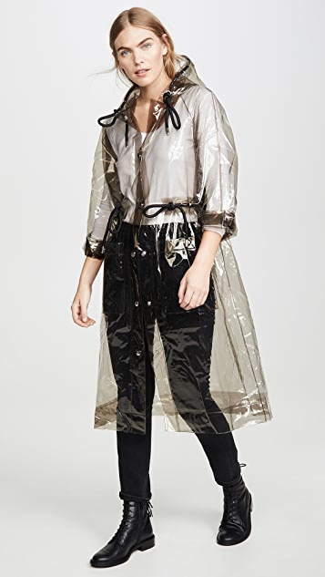 Proenza Schouler PSWL Hooded PVC Raincoat