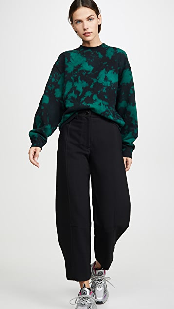 Proenza Schouler White Label Oversized Tie Dye Sweatshirt
