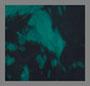 Dark Teal/Black Ink Blotch