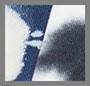 White/Indigo Splatter/Blotch