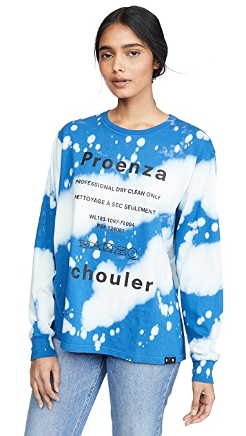 Proenza Schouler PSWL 扎染长袖 T 恤