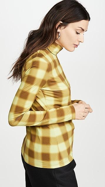 Proenza Schouler White Label 平纹针织长袖高领毛衣