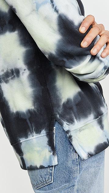 Proenza Schouler White Label Ombre Tie Dye Sweatshirt