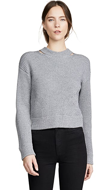 Proenza Schouler White Label Chunky Rib Pullover