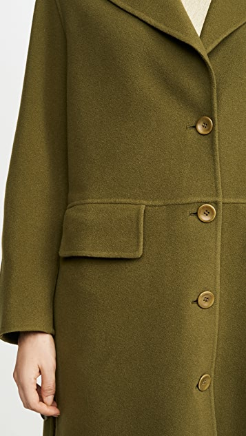 Proenza Schouler White Label Double Face Long Coat
