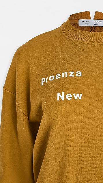 Proenza Schouler White Label 长袖运动衫
