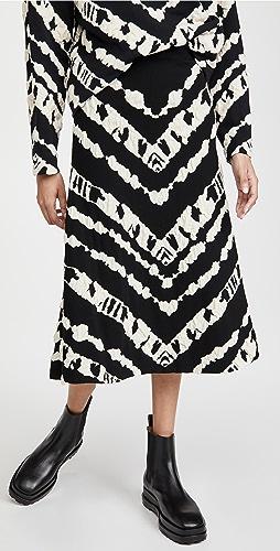 Proenza Schouler White Label - Animal Jacquard Knit Skirt
