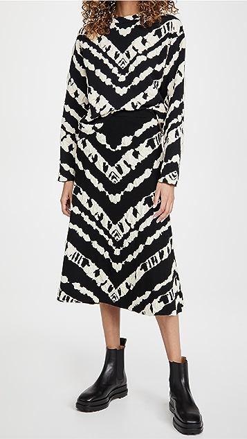 Proenza Schouler White Label 动物提花针织半身裙