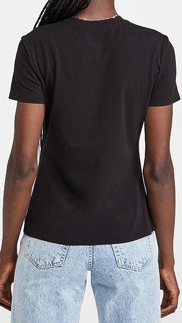 Proenza Schouler White Label Solid Logo T-Shirt