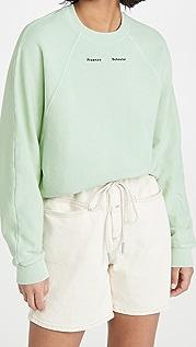 Proenza Schouler White Label 改良版连肩纯色运动衫