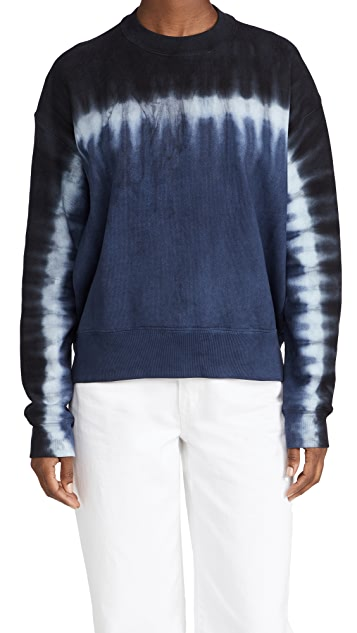 Proenza Schouler White Label Tie Dye Sweatshirt