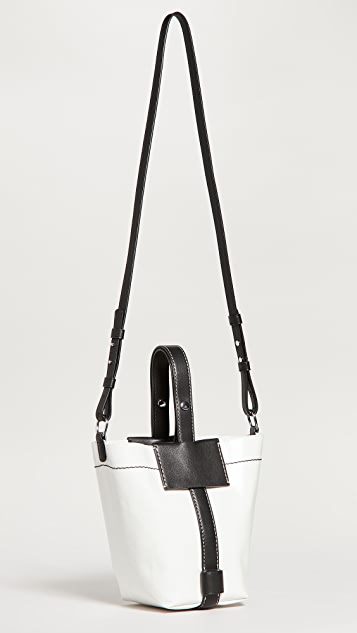 Proenza Schouler White Label Small Coated Canvas Bag