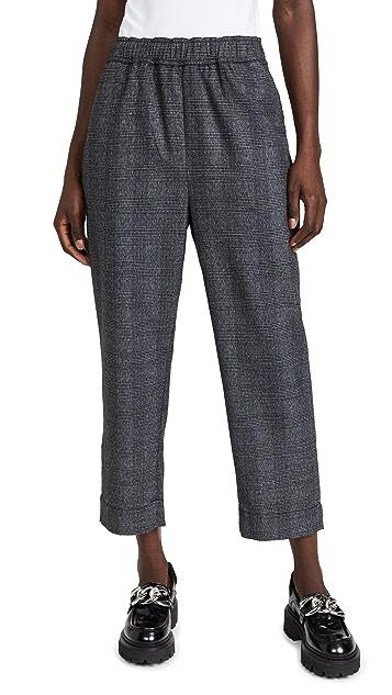 Proenza Schouler White Label Plaid Suiting Pants