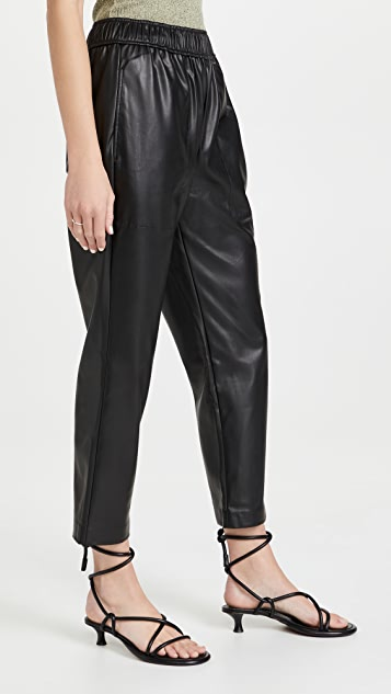 Proenza Schouler White Label Faux Leather Pants