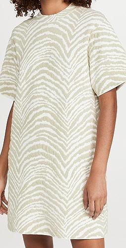 Proenza Schouler White Label - Animal Jacquard Knit Dress