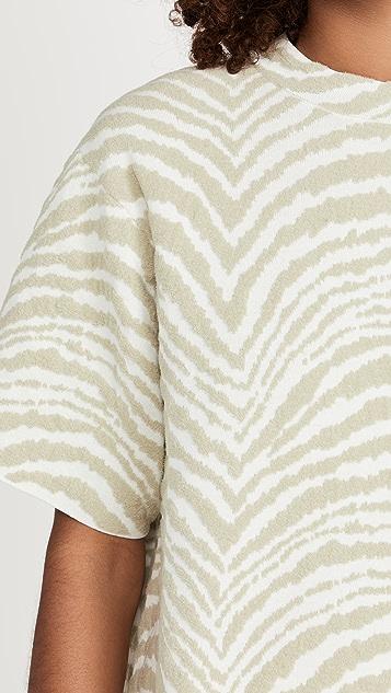 Proenza Schouler White Label Animal Jacquard Knit Dress