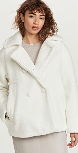 Proenza Schouler White Label - Teddybear Short Jacket