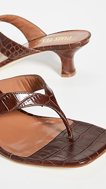 Paris Texas Thong Sandals