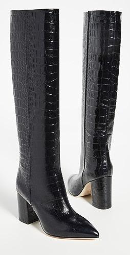 Paris Texas - Mock Croco Boots