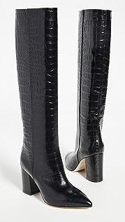 Paris Texas Mock Croco Boots