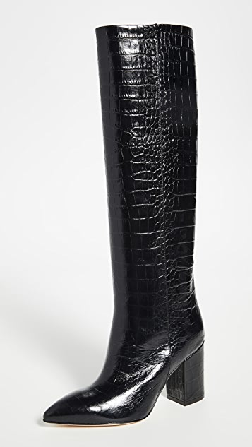 Paris Texas Mock Croco Boots