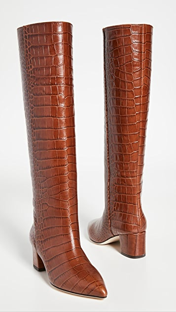 Paris Texas 50mm Moc Croco 靴子