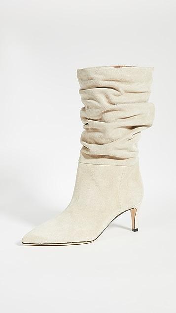 Paris Texas 丝绒休闲靴子