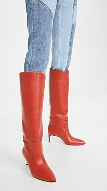 Paris Texas 60mm 接缝高筒靴