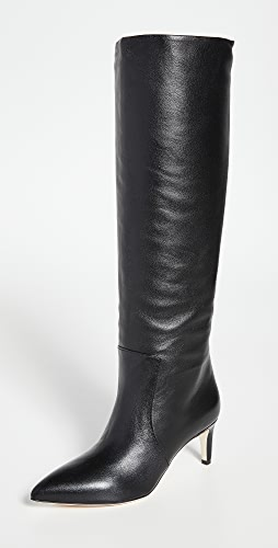 Paris Texas - 60mm 接缝细高跟鞋高筒靴