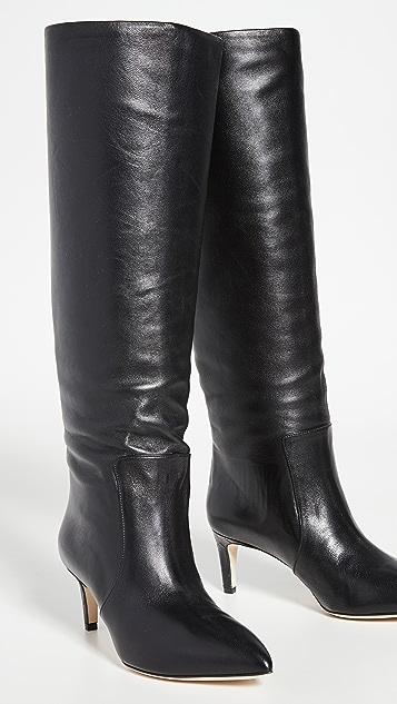 Paris Texas 60mm 接缝细高跟鞋高筒靴