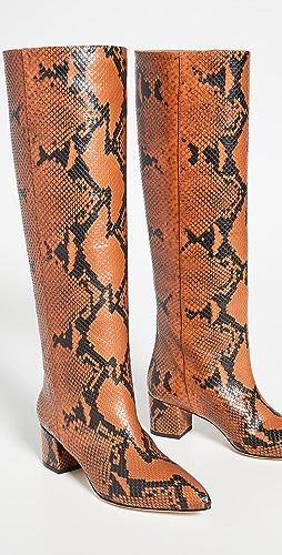 Paris Texas - 50mm 蟒蛇纹印花靴子