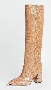 Paris Texas 80mm Moc Croco Boots