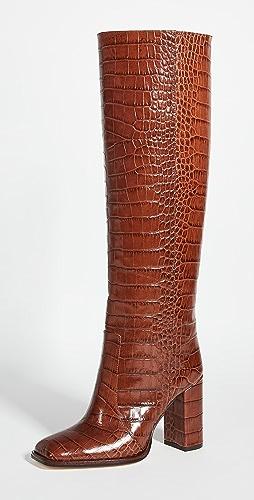 Paris Texas - Moc Croco 方头长靴