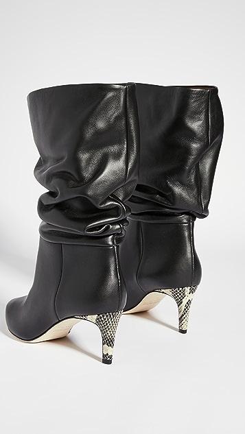Paris Texas 褶皱长靴