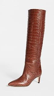 Paris Texas 60mm Moc Croco 细高跟长靴