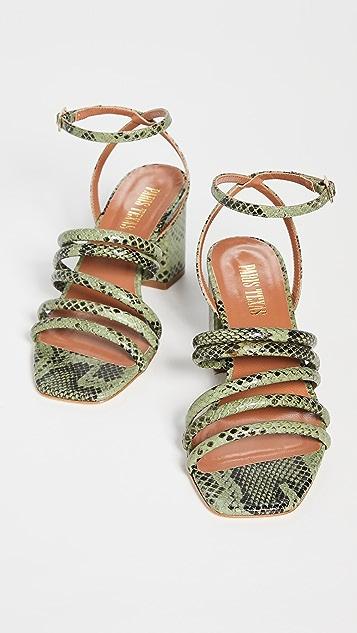 Paris Texas Carla 凉鞋 70mm