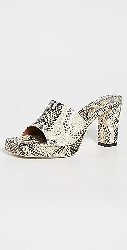 Paris Texas - Milena 厚底穆勒鞋